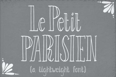 Le Petit Parisien (Light) Font