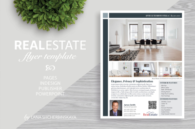 Real Estate Flyer Template No.6