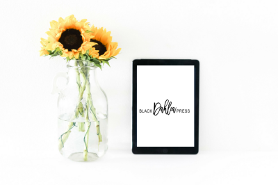 Feminine Sunflower + iPad Styled Desktop