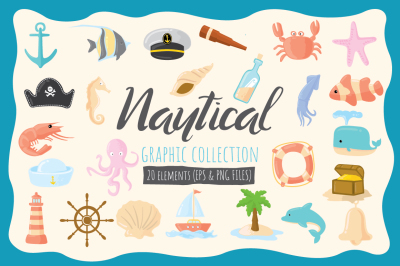 Nautical Graphic Collection