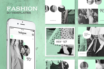 Fashion instagram Pack