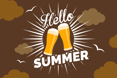 Beer Bottles Summer