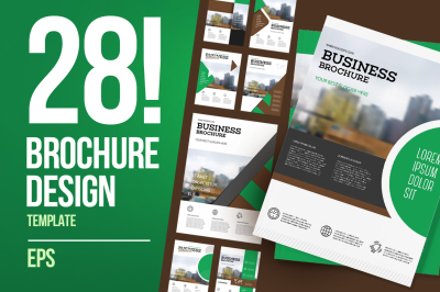 28 business brochure pack