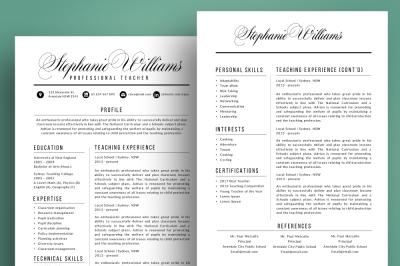 Script resume cover letter pptx