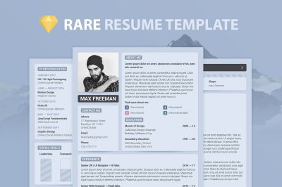 4 in 1 — Set of Resume Templates + Bonus