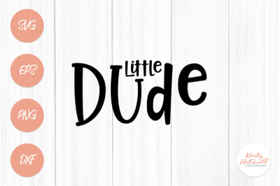 Little Dude SVG cutting file