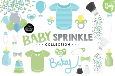 Baby Sprinkle Graphics & Patterns Bundle