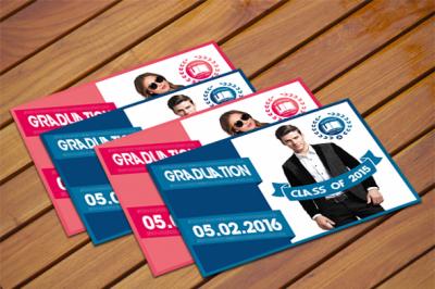 Graduation Invitation Card II