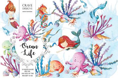 Ocean Life Clip Art
