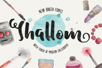 Shallom Brush Fonts