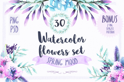 Watercolor Spring Mood