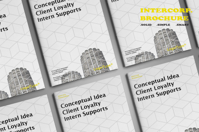 Intercorp Brochure Template