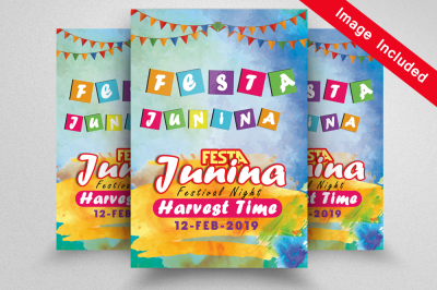 Festa Junina Event Flyer Template