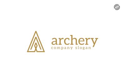 Archery - Letter A Logo Template