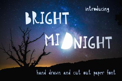 Bright Midnight Font