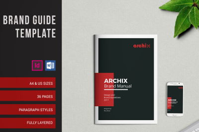 Brand Guidelines A4 & US LETTER Sizes