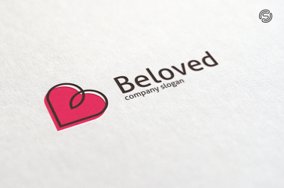 Beloved - Letter B Logo Template