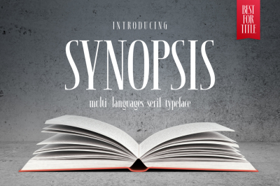 SYNOPSIS typeface
