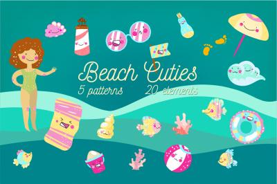 Beach Cuties set