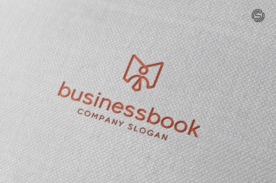 Business Book Logo Template