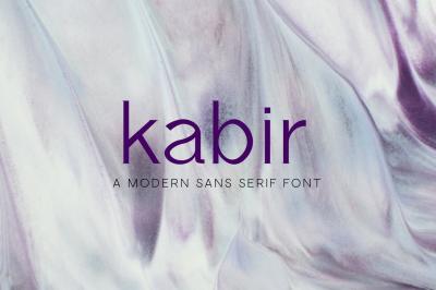 Kabir - Fun Sans Serif Font