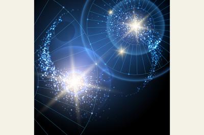 Cosmic Stars Background