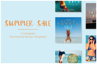 Summer sale | Mini social Pack