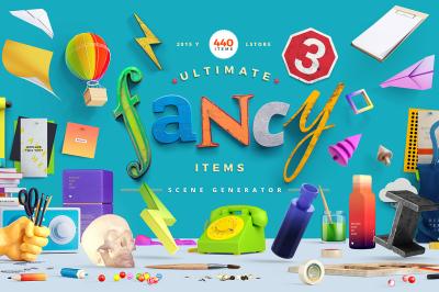 Fancy Items Scene Generator