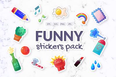 Sarcastic sticker pack