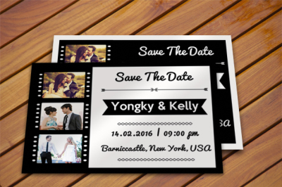 Wedding simple card