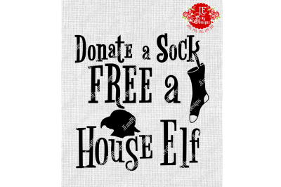 Donate a Sock FREE a House Elf