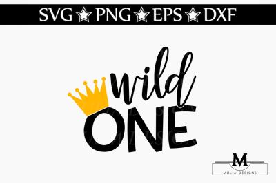 Wild One SVG