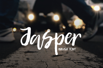 Jasper | Brush Font