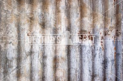 Corrugated Iron #1 - Stock Image