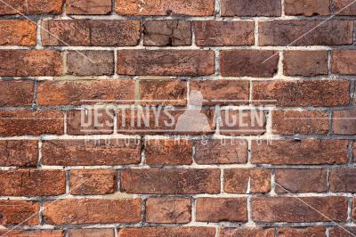 Coarse Brick Wall - Stock Image