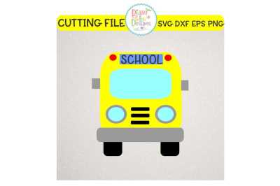 School Bus SVG DXF EPS PNG - Cutting File