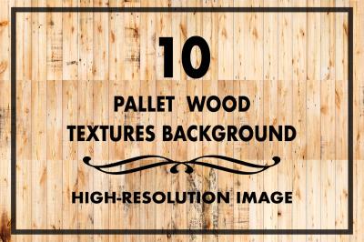 10 Pallet Wood Texture Background