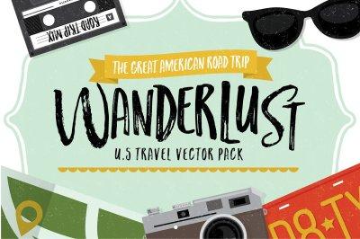 Wanderlust Travel Graphics