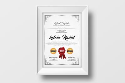 Elegant Certificate Templates