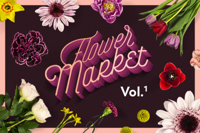 Flower Market Vol.1