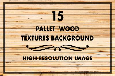 15 Pallet Wood Texture Background