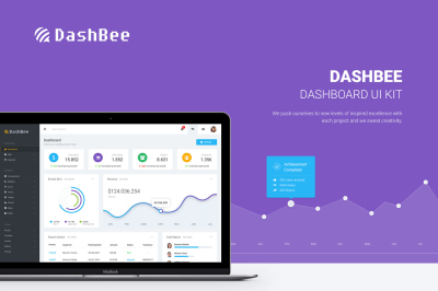 DashBee - Dashboard UI Kit