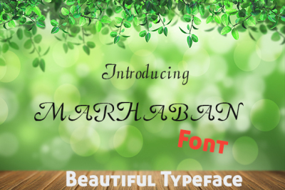 Marhaban Typeface