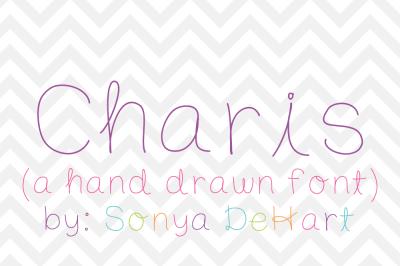 Font: Charis by Sonya DeHart