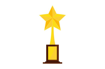 trophy star winner award