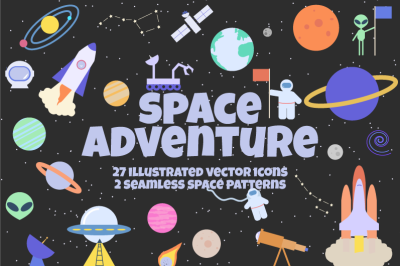 Space Adventure Graphics Pack