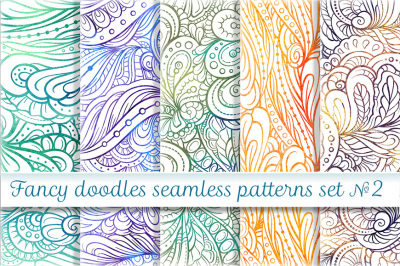 Fancy seamless patterns set 2