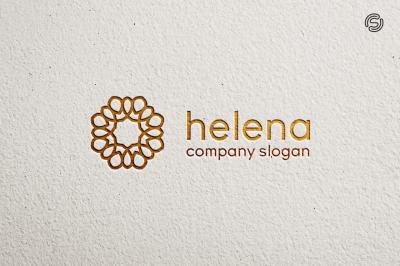 Hellena Logo Template