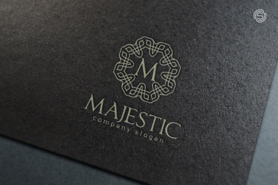 Majestic - Letter M Logo Template
