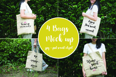 4 bags mock up